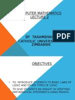 Lecture 2 Computer Mathematics Edited.ppt