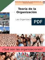 Teoria de la Organización Clase 1 Junio 2014.ppt