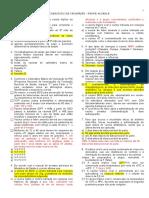2016 Lista 02 Exercicios de Vacina - GABARITO