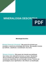 Aula de Mineralalogia