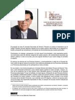 1.VII Jornada Latinoamericana de Derecho Tributario