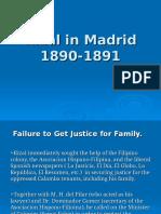 Rizal in Madrid