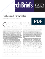 Bribes and Firm Value