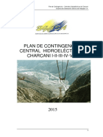 03 Plan de Contingencias Charcani 2015