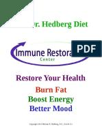Dr Hedberg Diet