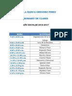 Escuela Basica Gregoro Perez