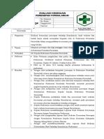 8.2.1.8 SOP Evaluasi Kesesuaian Peresapan Dengan Formularium, Dan Hasil Evaluasi