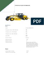Spesifikasi Alat Berat Pertambangan