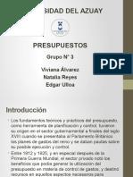 Presentación Presupuestos - Copia