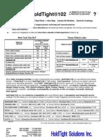 Why Use 102 - Test Summary 0609