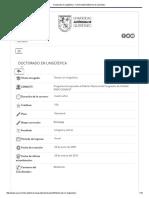 Doctorado en Lingüística - Universidad Autónoma de Querétaro