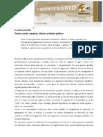 Pureza y Nacion Masacres, Silencios y Órdenes Políticos. Ludmila Da Silva Catela.