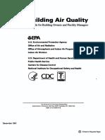 EPA Building Air Quality