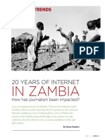 20 Years of Internet in Zambia