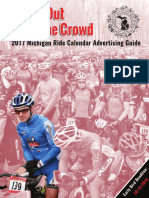 2017 Michigan Ride Calendar Advertising Guide