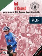 2017 Michigan Ride Calendar Advertising Guide