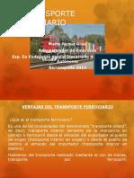 El Transporte Ferroviario