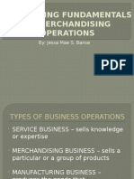 Accounting Fundamentals for Merchandising Operations
