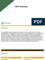 ABAP Roadmap