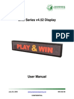 Elite Series v4.52 Display User Manual