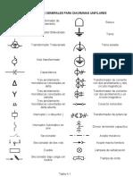 Simbologia Electrica Colombiana