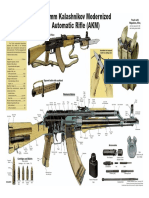 AK-47 Schematic Posters - 10