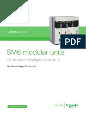 Catalogo SM6 | High Voltage | Switch