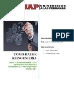 I GRUPO La Reingeniería y Los Programas de Mejora Incremental Y PROSPECTO de LA RAPIDA RE