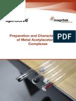 Lab Manual Metal Acetylacetonate Complexes Web