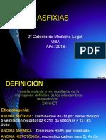 Clase Asfixias 2016 1º SEMESTRE