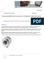 Nuovi Encoder Esterni DRIVE-CLiQ Con Connettore M12- Info 109740110