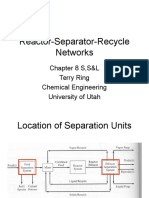 L8 Reactor Separator Recycle Networks