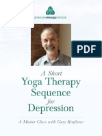 Yoga Therapy Sequence 1