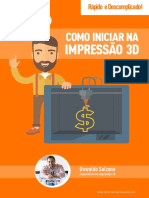 Como Iniciar Na Impressao 3D eBook v 1.1