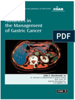 Advances in the Management of Gastric Cancer