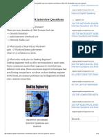 60 TOP DESKTOP ENGINEER Interview Questions and Answers DESKTOP ENGINEER Interview Questions