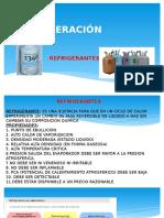3. REFRIGERACION - REFRIGERANTES