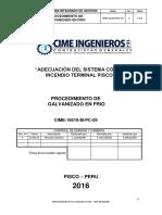Cime-16019-M-pc-09, Procedimiento de Galvanizado en Frio