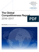 The Global Competitiveness Report 2016 WEF–2017