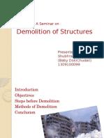 Demolition of Structures