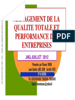 Abmaq Management Qualite Totale Et Performance Des Entreprises