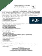 Cursos Perfeccionamiento Profesional May-Ago 2011