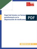 Papel Del Tecnico en Farmacia y Parafarmacia en la Dispensacion de Medicamentos