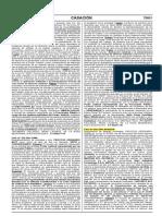 Cas. 816-2015-Huaura (Regimen Agrario - Indemnización Pero No Reposición) Resarcitorio No Restitutorio
