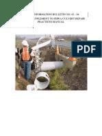 DBI83-04 Caltrans CMP Culvert Repair Practices Manual