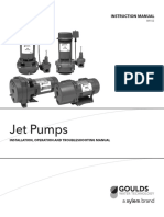 Jet Pumps IOM Manual
