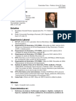 Curriculum Vitae - Di Vruno Actualizado