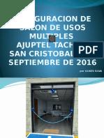 INAUGURACION DE SALON DE USOS MULTIPLES.ppsx