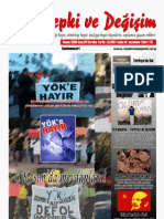 Tepki ve Değişim Dergisi 26. sayı