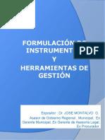 Conferencia Cajamarca Instrumentos de Gestion
